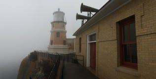 Split Rock Lighthouse in the Fog Stock Photography