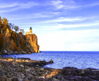 Split Rock Lighthouse stock image