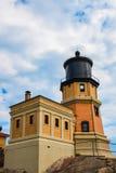 Split Rock Lighthouse. This is the Split Rock Lighthouse in Two Harbors, Minnesota Stock Photo