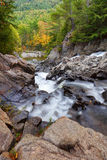 Split Rock Waterfalls. Split Rock Falls located in Adirondacks New York stock photos