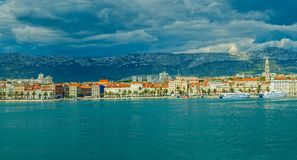 Split sea side Stock Photo