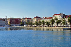Split skyline, Croatia Stock Image