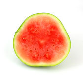 Split Small Seedless Watermelon Royalty Free Stock Image