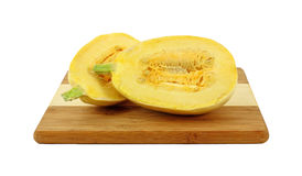 Split Spaghetti Squash Royalty Free Stock Photo