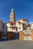 Split. St. Duje's cathedral Royalty Free Stock Photography