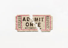 Split Ticket Stock Photo