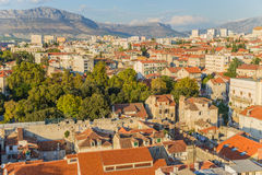 Split. View from bell tower6 Royalty Free Stock Photography