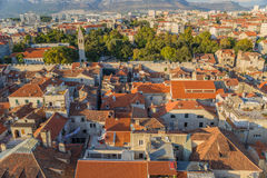 Split. View from bell tower8 Royalty Free Stock Image