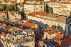 Split. View from bell tower10 Stock Image