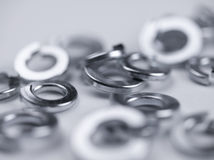 Split washer pile Stock Images