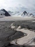 spliten för shan för faraglaciärberg tien Arkivbilder