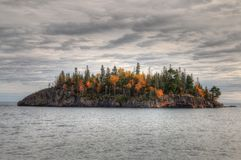 Splitrock Lighthouse is a popular State Park during all Seasons. In Minnesota Stock Image