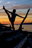 Splits at dusk Royalty Free Stock Images