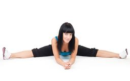 Splits fitness exercise Royalty Free Stock Photo