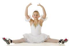 Splits graciosos da bailarina Foto de Stock