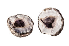 Splitted geode Royalty Free Stock Photos