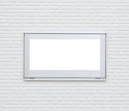 Splittermetallfensterrahmen Stockbild