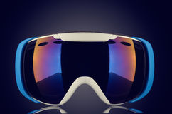 Splitterny skidar skyddsglasögon Royaltyfri Bild
