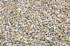 Splitterungen und Kies des Marmors und des Sandsteins gefärbt Lizenzfreie Stockfotografie