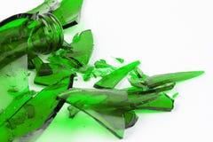 splittrad glass green Fotografering för Bildbyråer