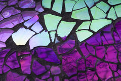 Splittrad Glass mosaik Royaltyfria Bilder