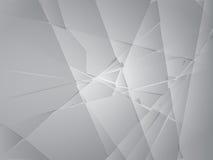 splittrat exponeringsglas royaltyfri illustrationer
