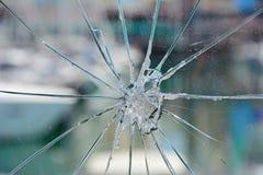 Splittrat säkerhetsexponeringsglas, Portugal arkivfoton