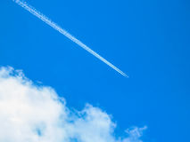 Splittring av himmel Arkivfoton