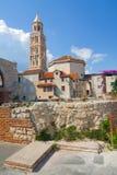Splittring Diocletian slott, Kroatien Royaltyfria Bilder