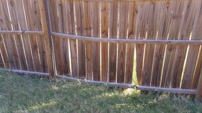 Splittring i staket Fotografering för Bildbyråer