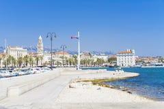 Splittring Kroatien - 20 Juli 2017 Royaltyfria Bilder