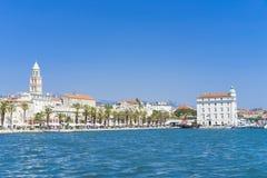 Splittring Kroatien - 20 Juli 2017 Royaltyfri Fotografi