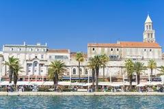 Splittring Kroatien - 20 Juli 2017 Fotografering för Bildbyråer