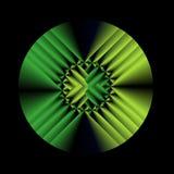 splot green Zdjęcie Stock
