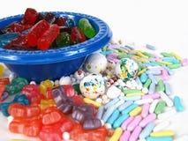 Splurge della caramella Immagine Stock