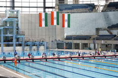 SPM swimming pool in new delhi, india Royalty Free Stock Image