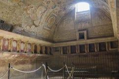 Społeczeństw skąpania w Pompeii Obrazy Stock