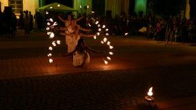 Społeczeństwo ogienia przedstawienie organizujący w Timisoara, Rumunia 6 zbiory
