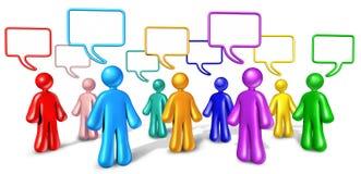 społeczność komunikacyjny networking Zdjęcie Royalty Free