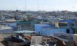 Społeczność miejska na zewnątrz przylądka miasteczka Obraz Royalty Free