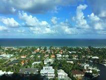 Społeczność, ocean i niebo, Obraz Stock