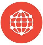 Społeczność Odizolowywał Wektorową ikonę która może łatwo redagować lub modyfikująca royalty ilustracja