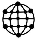 Społeczność Odizolowywał Wektorową ikonę która może łatwo redagować lub modyfikująca ilustracja wektor