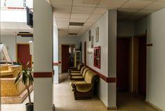 Społeczności kliniki wnętrze Zdjęcia Royalty Free