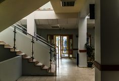 Społeczności kliniki wnętrze Zdjęcie Royalty Free