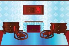 Spoczynkowy pokój ilustracja wektor