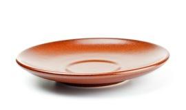 spodeczek ceramiczny spodeczek zdjęcie stock