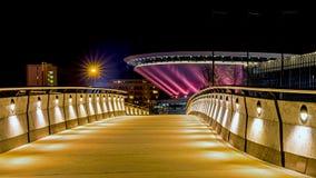 Spodek för sportkorridor arena Royaltyfri Fotografi
