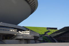Spodek, a saucer hall sports in Katowice Stock Image