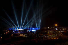 Spodek - sport ed arena culturale in Katowice, Polonia Immagine Stock